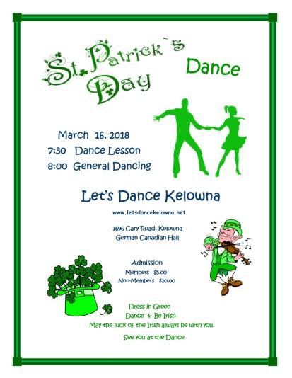 St. Patrick Dance 3 March 16 2018